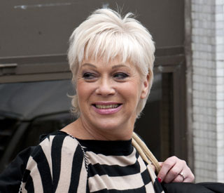 Denise Welch's dog attacked by wild fox