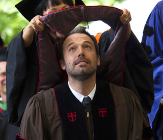 Honorary degree for Ben Affleck