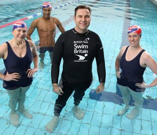 David Walliams launches new swimming challenge