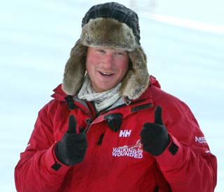 Prince Harry to race South Pole with Dominic West