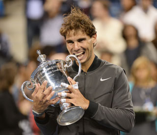 Rafael Nadal wins US Open in front of A-list crowd