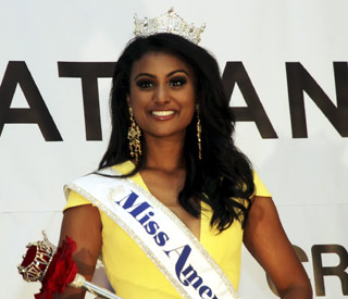Nina Davuluri is first Indian American to win Miss America