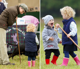 Princess Anne enjoys play date with granddaughters