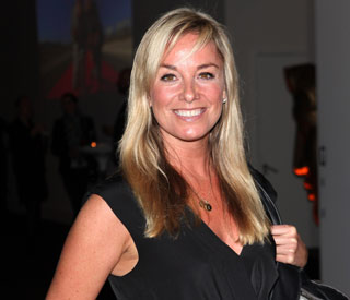Smiling Tamzin Outhwaite enjoys post-split outing