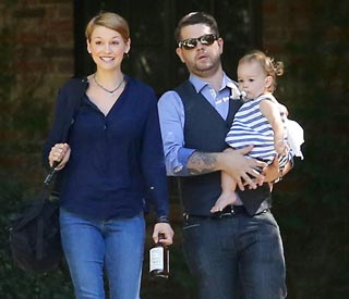 Jack Osbourne puts family first for baby classes