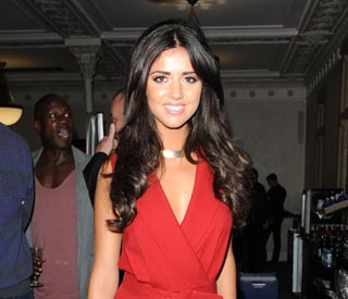 Lucy Mecklenburgh fights off jetlag to attend awards