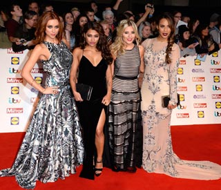 The Saturdays dress to impress for awards