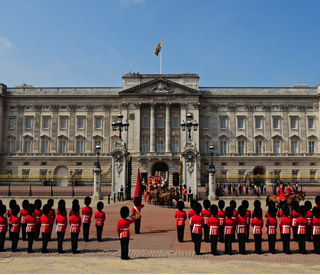 Buckingham Palace suffers damage in St Jude's storm