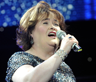 Susan Boyle duets with Elvis on Christmas single