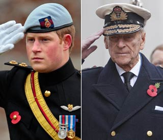 Harry and Philip to visit Field of Remembrance