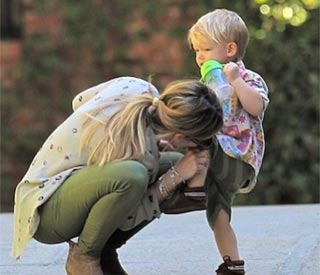 Hilary Duff enjoys bonding time with son Luca