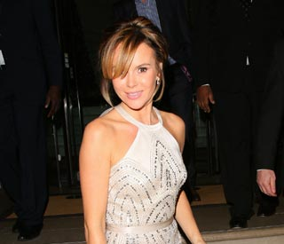 Amanda Holden sparkles at Animal Hero Awards