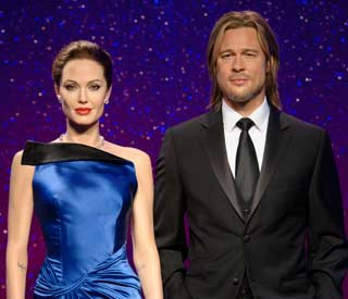 Waxworks of Brad and Angelina unveiled