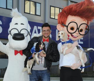 Peter Andre names dogs after the lead characters in new film