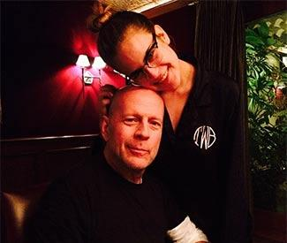 Rumer Willis posts birthday pic with Bruce Willis