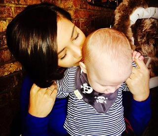 Frankie Sandford shares snap of 'mummy's boy' Parker