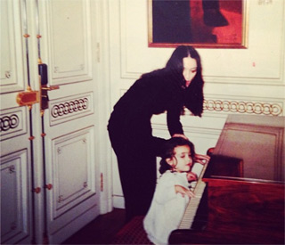 Madonna gets nostalgic with Lourdes baby picture