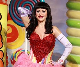 Katy Perry waxwork unveiled in London