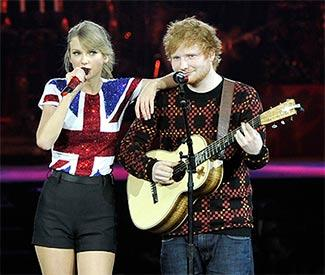 Ed Sheeran denies new song is about Taylor Swift
