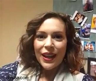 Alyssa Milano reveals gender of second baby