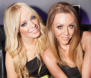 Michelle Heaton and Liz McClarnon help re-launch The Shadow Lounge