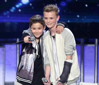 Bars and Melody sign record deal with Simon Cowell