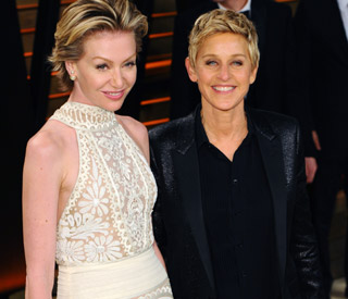 Ellen DeGeneres reveals wife Portia de Rossi is joining Scandal