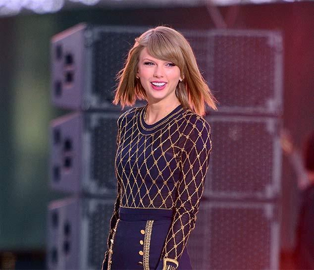 Taylor Swift announces world tour dates for 1989 including first Scottish date