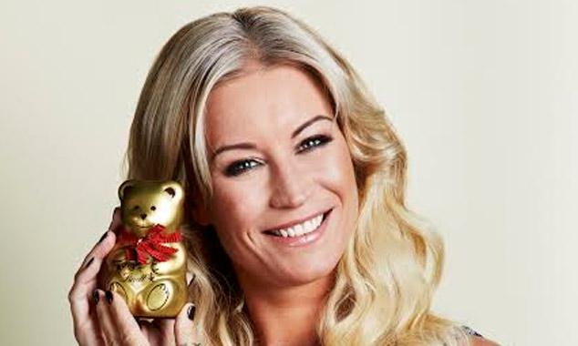 Denise Van Outen's Children In Need bear raises over £500