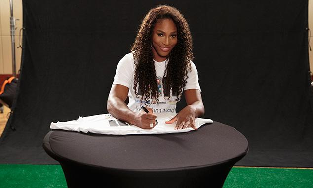 Serena Williams fronts new charity campaign '1 in 11'