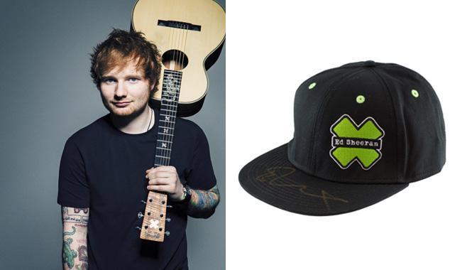 Ed Sheeran takes his hat off to help homeless people get ahead