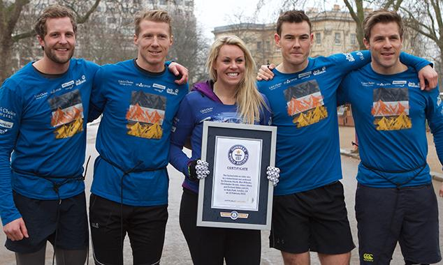 Chemmy Alcott and The Arctic V smash another world record