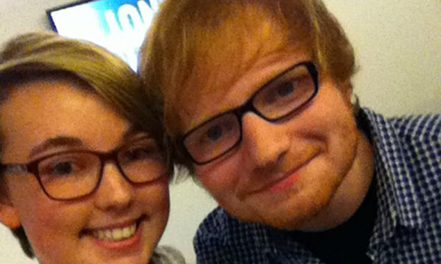 Ed Sheeran backs schoolgirl's charity single