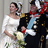Royal brides: The fairytale wedding dresses worn by real-life princesses