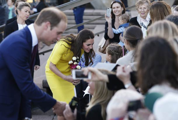 william and kate tour