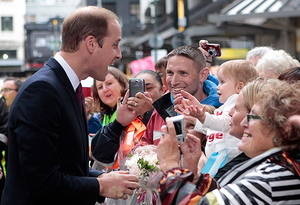 Prince Williams meets Ruby Cate Blitz in Wellington, New Zealand