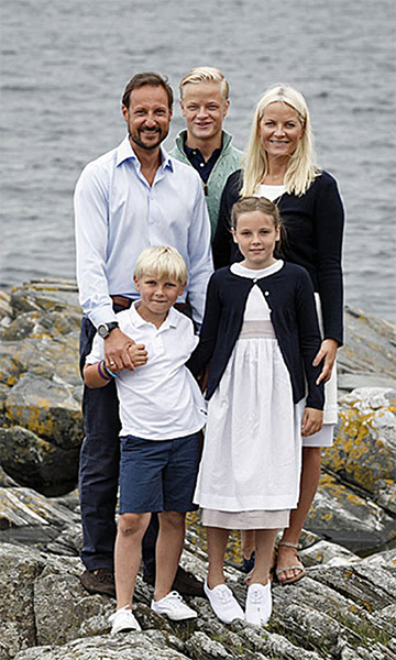 Crown Prince Haakon of Norway and Princess Mette-Marit