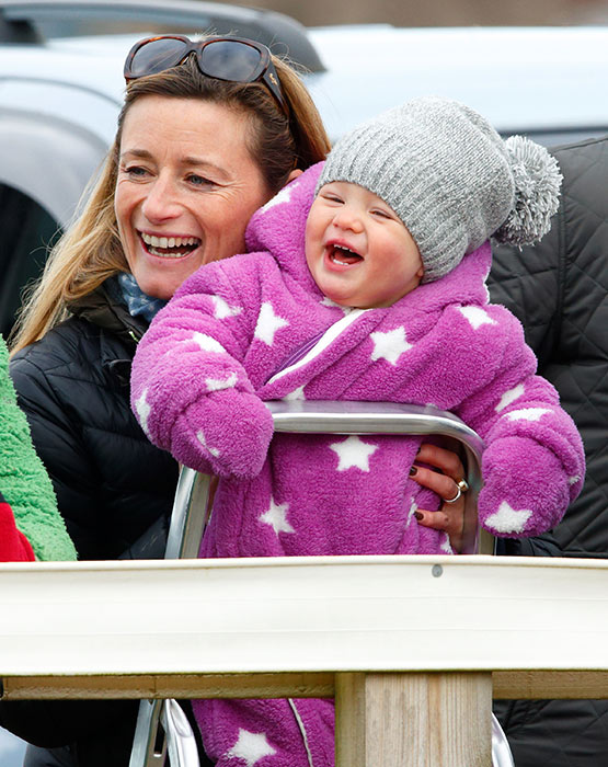 Zara Phillips takes cute daughter Mia Tindall out to ...