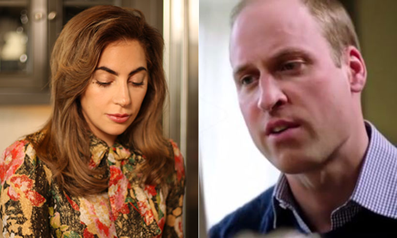 Prince William and Lady Gaga
