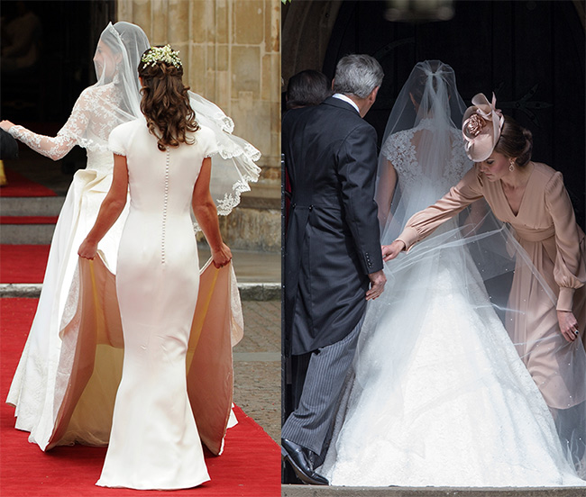 Wedding Gown Of Kate Middleton: Kate Middleton Recreates Scene From Her Wedding By Helping