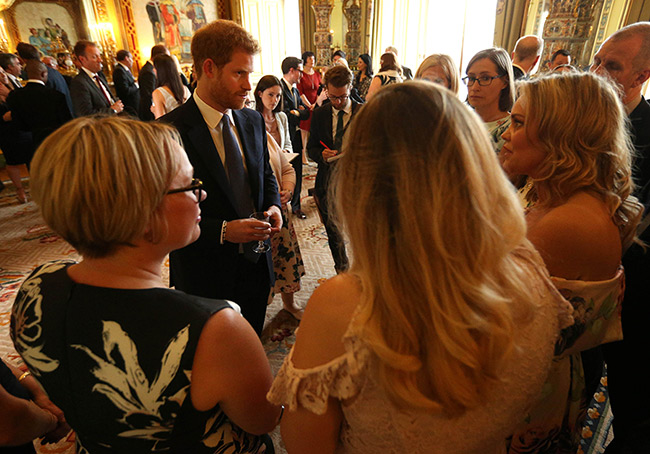 prince-harry-wellchild-reception-buckingham-palace-crowds