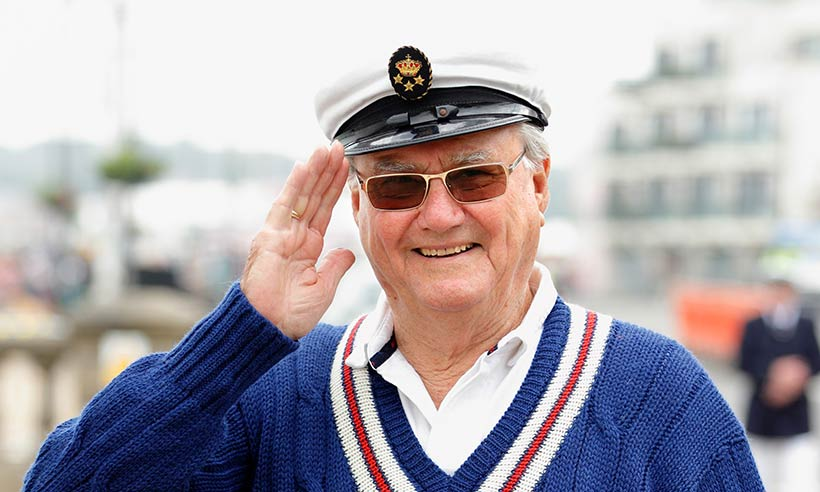 Prince Henrik in jumper