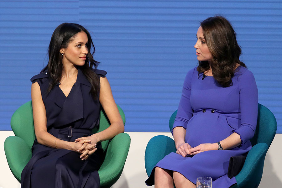 Kate Middleton And Meghan Markle S First Official Joint