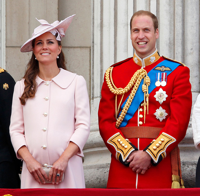 kate-middleton-pregnant-prince-george-trooping-the-colour