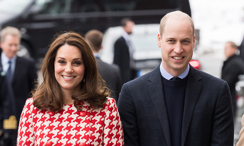 kate middleton prince william sweden tour 2018