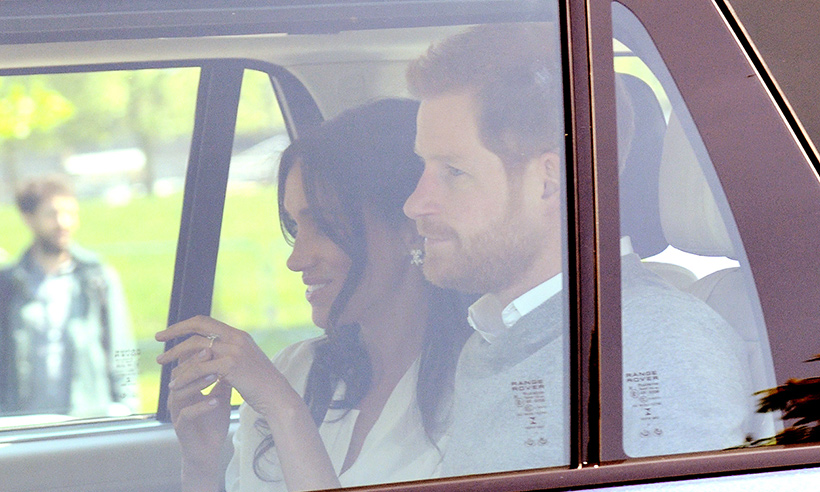 prince-harry-meghan-markle-car