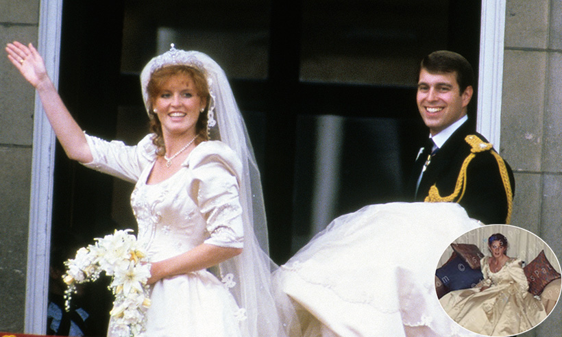 See these unearthed photos of Sarah Ferguson's wedding ...