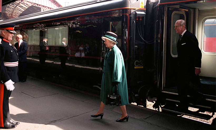 The-Queen-royal-train