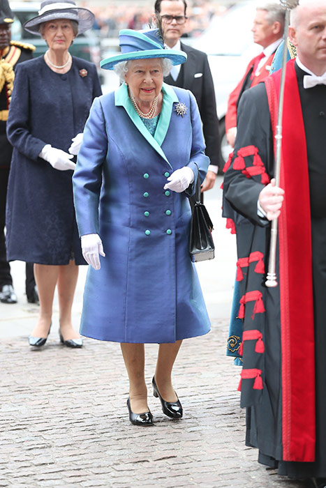 The Queen at RAF service