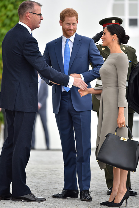 Meghan Markle and Prince Harry in Dublin
